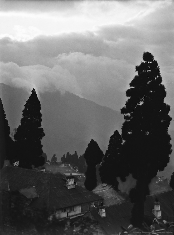 Storm Calouds Over Himalayas, Darjeeling, India, 1929