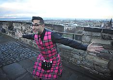 'Still Game' Sanjeev Kohli dons brand new Hogmanay tartan | Edinburgh | 13 December 2017
