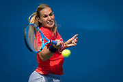 Dominika Cibulkova of Slovakia practices at the 2018 US Open Grand Slam tennis tournament, New York, USA, August 26th 2018, Photo Rob Prange / SpainProSportsImages / DPPI / ProSportsImages / DPPI