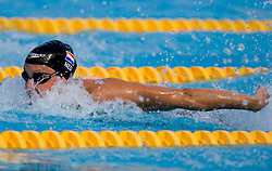 26-09-2009 SWIMMING: FINA WORLD CHAMPIONSHIPS: ROMA<br /> Marleen Veldhuis of Netherlands during the Women's 50m Butterfly Heats <br /> ©2010-WWW.FOTOHOOGENDOORN.NL