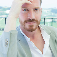 Andrew Sean Greer, american writer<br /> 9 November 2014<br /> Photograph by Leonardo Cendamo/Writer Pictures<br /> <br /> UK EXCLUSIVE, WORLD RIGHTS, NO ITALY, <br /> NO AGENCY - DIRECT SALES ONLY