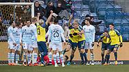 FODBOLD: Paulus Arajuuri (Brøndby IF) jubler efter scoringen til 1-0 under kampen i ALKA Superligaen mellem Brøndby IF og FC Helsingør den 25. februar 2018 på Brøndby Stadion. Foto: Claus Birch.