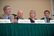 19069Scripps Day: Panel: ?Presidential Election 2008; Coverage and Media Impact?.. David Keim, Tim Sharp, Bonnie Barclay, Peter Souza
