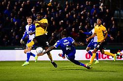 Abu Ogogo of Bristol Rovers scores to make it 2-2 - Mandatory by-line: Dougie Allward/JMP - 07/12/2019 - FOOTBALL - Memorial Stadium - Bristol, England - Bristol Rovers v Southend United - Sky Bet League One