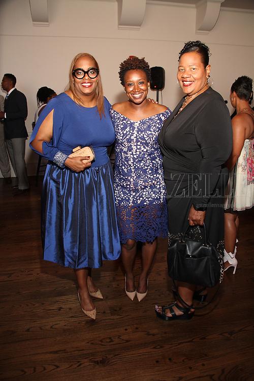 Tina Moss, Heather Jefferson, Shenetha Mack-Johnson
