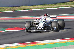 March 9, 2018 - Barcelona, Catalonia, Spain - Charles Leclerc during the test of F1 celebrated at Circuit of Barcelonacon 9th March 2018 in Barcelona, Spain. (Credit Image: © Joan Valls/NurPhoto via ZUMA Press)