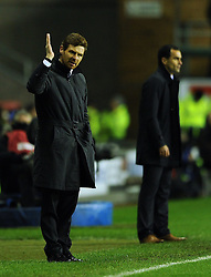 17.12.2011, Stamford Bridge Stadion, London, ENG, PL, FC Chelsea vs Wigan Athletic, 16. Spieltag, im Bild Chelsea manager Andre Villas-Boas looks on during the football match of English premier league, 16th round, between FC Chelsea and Wigan Athletic at Stamford Bridge Stadium, London, United Kingdom on 2011/12/17. EXPA Pictures © 2011, PhotoCredit: EXPA/ Propagandaphoto/ Chris Brunskill..***** ATTENTION - OUT OF ENG, GBR, UK *****