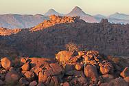 Africa, Namibia, Damaraland, Namib,  Movani, Boulder Desert