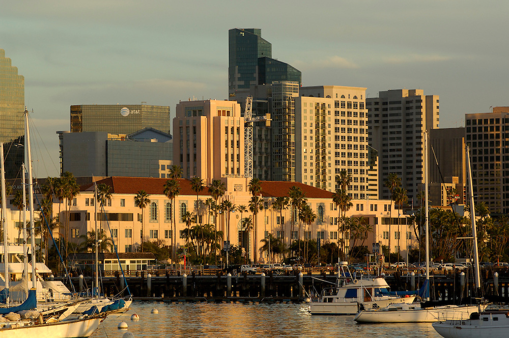Boat Harbor, Downtown, San Diego, California, United States of America