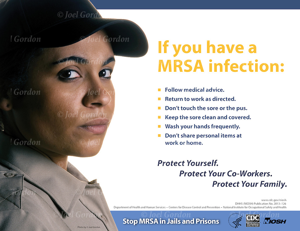 Correction Officer used in Stop MRSA in Jails and Prisons.<br />