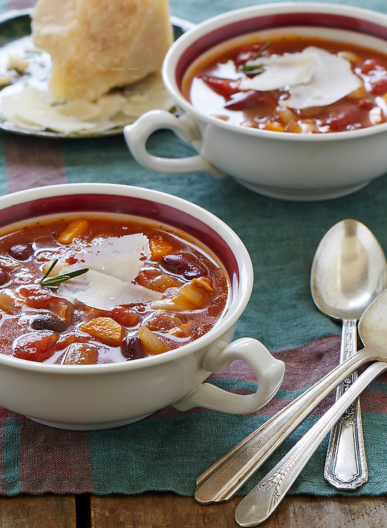 Bean And Tomato Soup