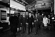 05/05/1965<br /> 05/05/1965<br /> 05 May 1965<br /> President Eamon de Valera visits the RDS Spring Show at Ballsbridge Dublin. President de Valera passing the Masser-Waterford Ironfounders stand at the RDS , Mr. J. Meenan, M.A. BL., Chairman of the Executive Committee of the RDS is on the left.
