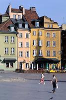 Zamkowy Square, old town. Warsaw. Poland<br /> Poland