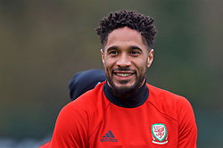 CARDIFF, WALES - Thursday, March 23, 2017: Wales' captain Ashley Williams during a training session at the Vale Resort ahead of the 2018 FIFA World Cup Qualifying Group D match against Republic of Ireland. (Pic by David Rawcliffe/Propaganda)