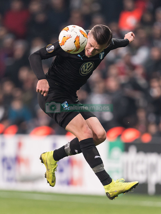 Arnor Ingvi Traustason of Malmo FF during the UEFA Europa League group I match between between Besiktas AS and Malmo FF at the Besiktas Park on December 13, 2018 in Istanbul, Turkey