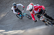 #210 (CHRISTENSEN Simone Tetsche) DEN  at Round 9 of the 2019 UCI BMX Supercross World Cup in Santiago del Estero, Argentina