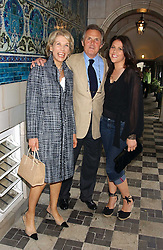 Left to right, LORD & LADY HINDLIP and their daughter the HON.SOPHIE ALLSOPP at the No Campaign's Summer Party - a celebration of the 'Non' and 'Nee' votes in the Europen referendum in France and The Netherlands held at The Peacock House, 8 Addison Road, London W14 on 5th July 2005.<br />