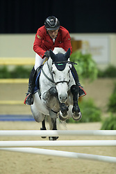 Dreher Hans Dieter, (GER), Cool and Easy <br />  Longines FEI World Cup™ Jumping Final Las Vegas 2015<br />  © Hippo Foto - Dirk Caremans<br /> Final III round 2 - 19/04/15