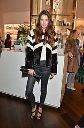 SARAH ANN MACKLIN at the launch of the Space NK Global Flagship store at 285-287 Regent Street, London on 10th November 2016.