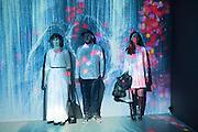 LILIA WINTER; MARTIN JOHANSSON; ALEXANDRA ARTAMONOVSRJA, Team Lab, Transcending Bourndaries, Pace Gallery, Burlington Gardens. London. 24 January 2017
