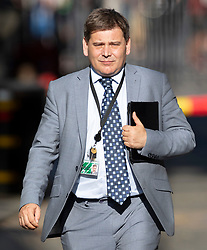 © Licensed to London News Pictures. 22/07/2019. London, UK. Andrew Bridgen MP arrives for Prime Minister Theresa May's farewell drinks reception at Downing Street.  Voting in the Conservative party leadership election ends today with the results to be announced tomorrow. Photo credit: Peter Macdiarmid/LNP