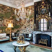 NLD/Den Haag/20190703 - Bezichtiging kamers paleis Huis ten Bosch, De Chinese zaal