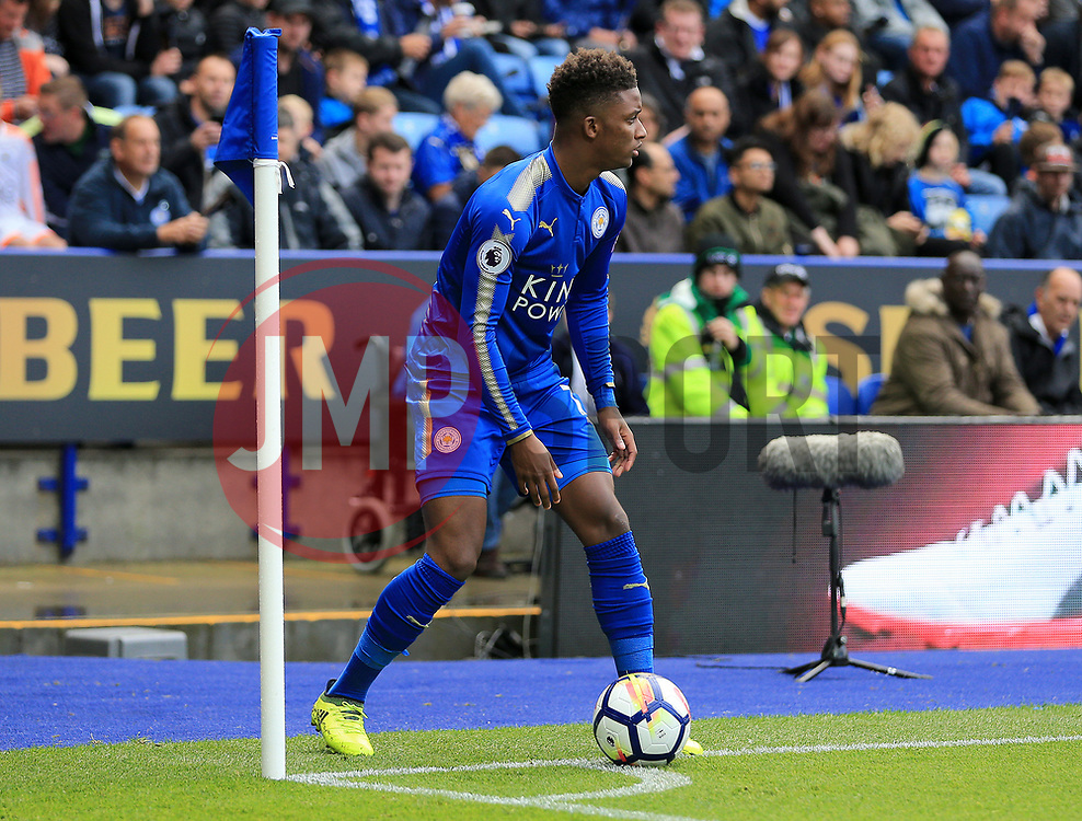 Demarai Gray of Leicester City - Mandatory by-line: Paul Roberts/JMP - 09/09/2017 - FOOTBALL - King Power Stadium - Leicester, England - Leicester City v Chelsea - Premier League