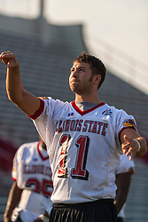 "16 August 2004    QB B.J. McCaslin   ""Meet the Redbirds"" evening at Illinois State University, Normal IL"