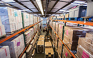 Second Harvest's 36,000-square-foot warehouse for sorting, storage (including solar-powered cooler and freezer!), and distribution