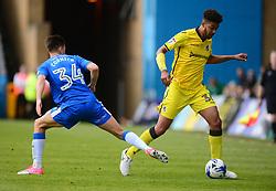 Jake Clarke-Salter of Bristol Rovers takes it past Harry Cornick of Gillingham - Mandatory by-line: Alex James/JMP - 14/04/2017 - FOOTBALL - MEMS Priestfield Stadium - Gillingham, England - Gillingham v Bristol Rovers - Sky Bet League One