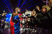 Patrice Quarteron (fra) during the Muay Thai, Thai Boxing fight between Patrice Quarteron and Sean Tolouee on December 14, 2017 at AccorHotels Arena in Paris, France - Photo Pierre Charlier / ProSportsImages / DPPI