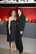 FRANCESCA TARANT AND MARTINA VERRESCHI,  Grosvenor House Art & Antiques Fair charity gala evening in aid of Coram Foundation. Grosvenor House. Park Lane. London. 14 June 2007.  -DO NOT ARCHIVE-© Copyright Photograph by Dafydd Jones. 248 Clapham Rd. London SW9 0PZ. Tel 0207 820 0771. www.dafjones.com.