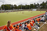 28.7.2015, Olympic Park Berlin. Field hockey (female) Argentina vs. Holland, first hockey game of the 14th European Maccabi Games.