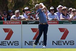 November 15, 2018 - Sydney, NSW, U.S. - SYDNEY, AUSTRALIA - NOVEMBER 15: Cameron Smith (AUS) plays off the tee at Day 1 of The Emirates Australian Open Golf on November 15, 2019, at The Lakes Golf Club in Sydney, Australia. (Photo by Speed Media/Icon Sportswire) (Credit Image: © Speed Media/Icon SMI via ZUMA Press)