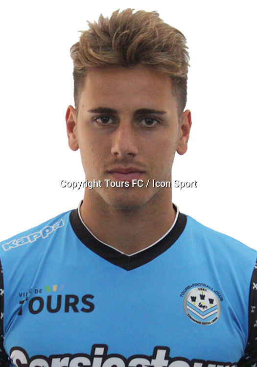 Daniel Mancini during the during photoshooting of Tours FC for new season 2017/2018 on October 5, 2017 in Tours, France<br /> Photo : Tours FC / Icon Sport