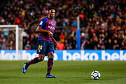 24 Yerry Mina from Colombia of FC Barcelona during the Spanish championship La Liga football match between FC Barcelona and Real Sociedad on May 20, 2018 at Camp Nou stadium in Barcelona, Spain - Photo Xavier Bonilla / Spain ProSportsImages / DPPI / ProSportsImages / DPPI