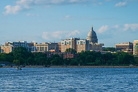 Madison Skyline & Monona Bay