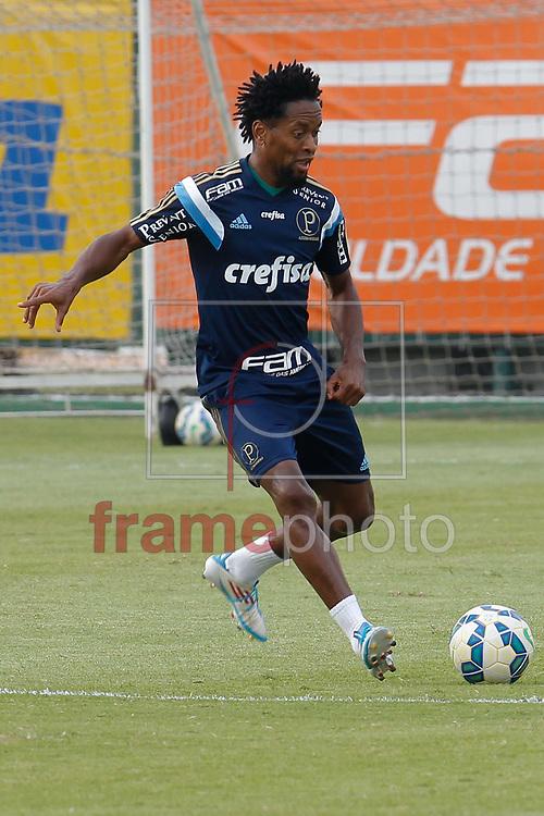 Zé Roberto durante Treino do Palmeiras na tarde desta segunda-feira (26/10) na Academia de Futebol em São Paulo. Foto: Anderson Gores/FramePhoto