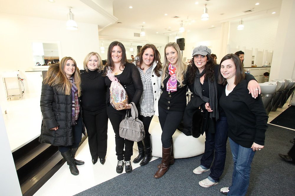 The CJA presents Girls' Night - Mani's and Tini's at Avanti Spa. Featuring spa treatments, cocktails, hor d'oeuvres, music and great giveaways! A Haiti update was given by Joelle Berdugo Adler, Founder of ONEXONE. Proceeds all go to the Haiti Relief Fund.
