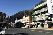 Alaska, Juneau Main street