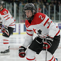 COBOURG, - Dec 16, 2015 -  Game #9 - Canada East vs Canada West at the 2015 World Junior A Challenge at the Cobourg Community Centre, ON. Owen Grant #2 of Team Canada East during the first period<br /> (Photo: Amy Deroche / OJHL Images)