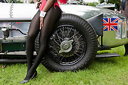 Chelsea Auto Legends, The Chelsea Hospital London, Uk, 02 Sept 2012. Chelsea pensioners mingle with Playboy Bunny Girls, families and exotic luxury cars