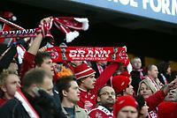 Fotball, 7. november 2004, NM-finale herrer , cupfinale , Brann - Lyn 4-1,  illustrasjon, fan fans supporter supportere Brann skjerf