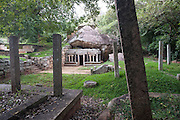 Kaludiya Pokuna.<br /> A medieval monastery in Mihintale.