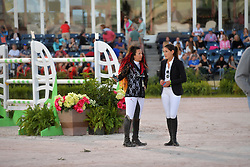 March 9, 2019 - Wellington, Florida, United States Of America - WELLINGTION, FL - MARCH 09: SATURDAY NIGHT LIGHTS: Danielle Goldstein, Jessica Springsteen participates The highlight event of week 9 at the 2019 Winter Equestrian Festival, the $391,000 Douglas Elliman Real Estate Grand Prix CSI 5*. The Winter Equestrian Festival (WEF) is the largest, longest running hunter/jumper equestrian event in the world held at the Palm Beach International Equestrian Center on March 09, 2019  in Wellington, Florida..People:  Danielle Goldstein, Jessica Springsteen. (Credit Image: © SMG via ZUMA Wire)
