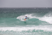 Yolanda Hopkins (Port) during the Boardmasters WSL Women's Roxy Pro Surf Championships at Fistral Beach,  Newquay, Cornwall, United Kingdom on 9 August 2019.