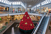 Holiday Decorations at The Mall in Columbia Retail Center Photography