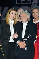 Pierre Richard et Julie Gayet lors de la cinquième cérémonie des Magritte du cinéma belge. De nombreuse personnalités du cinéma étaient présentes pour cette édition. Notamment Julie Gayet, Pierre Richard (Magritte d'Honneur), François Damiens, Thierry Lhermitte mais également SAR le Prince Laurent et la Princesse Claire de Belgique