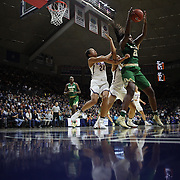 STORRS, CONNECTICUT- NOVEMBER 17: Kalani Brown #21 of the Baylor Bears in action while defended by Napheesa Collier #24 of the UConn Huskies and Gabby Williams #15 of the UConn Huskies during the UConn Huskies Vs Baylor Bears NCAA Women's Basketball game at Gampel Pavilion, on November 17th, 2016 in Storrs, Connecticut. (Photo by Tim Clayton/Corbis via Getty Images)