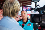 NOVI SAD - 17-08-2016, Vojvodina - AZ, Karadjordje Stadion, training, persconferentie, AZ trainer John van den Brom